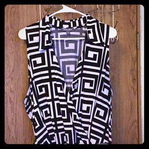 Ros & Ali long sleeveless summer dress